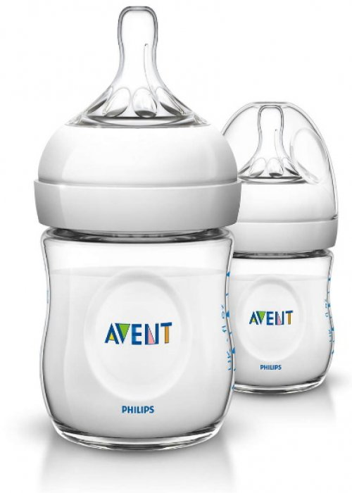 Philips Avent SCF690/27 Natural PP Biberon 125 ml 2li